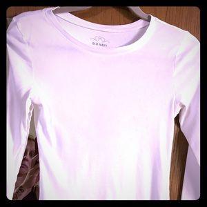 Basic white long sleeve